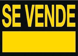 cartel se vende amarilo 73x50cm