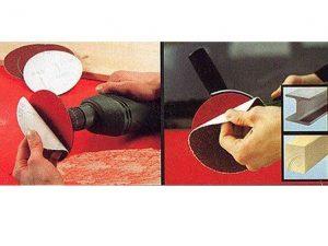 disco lija radial 125mm con velcro 5udes grano 180