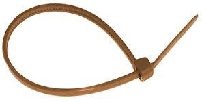 brida nylon marron 150x3.6 100 udes
