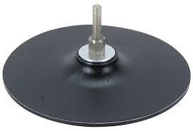 plato de caucho 125mm para taladro