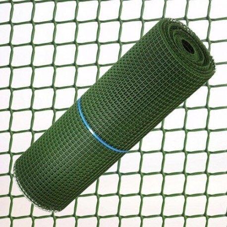 malla plastico verde 0.5mm 1mtrs/el metro