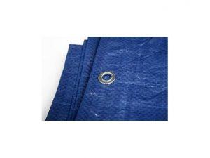 toldo rafia azul 4x6 mtrs reforzado