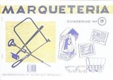 cuaderno marqueteria n19 virgen