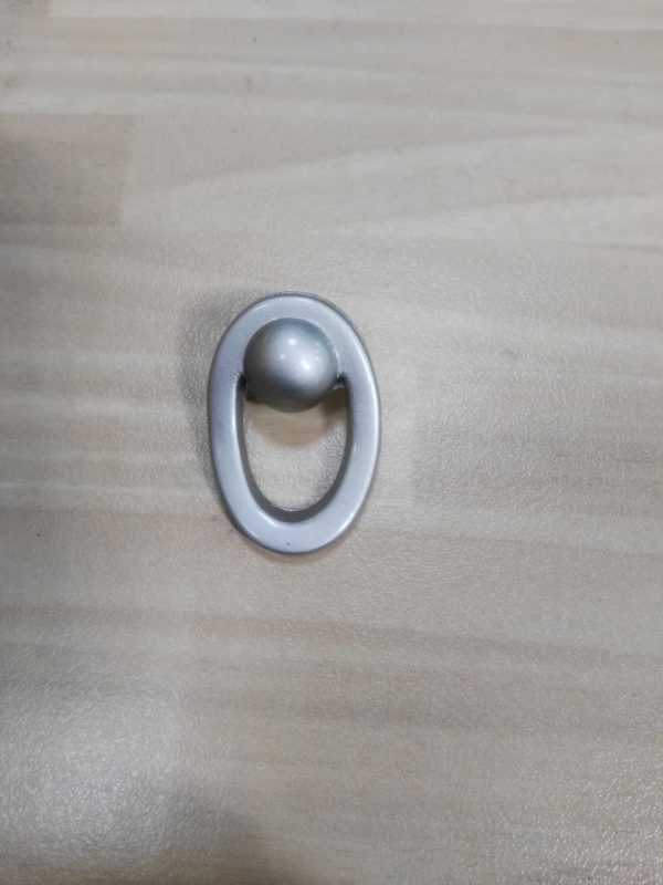 tirador mueble 4cm satinado ref 0156