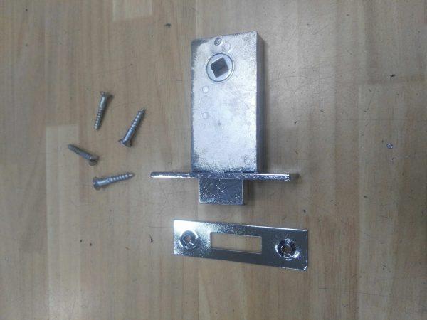 picaporte ayr 955/45 cromado cuadradillo 6mm