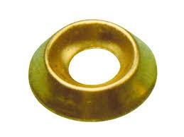 ovalillo conico 10mm latonado