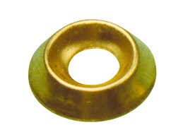 ovalillo conico 13mm latonado