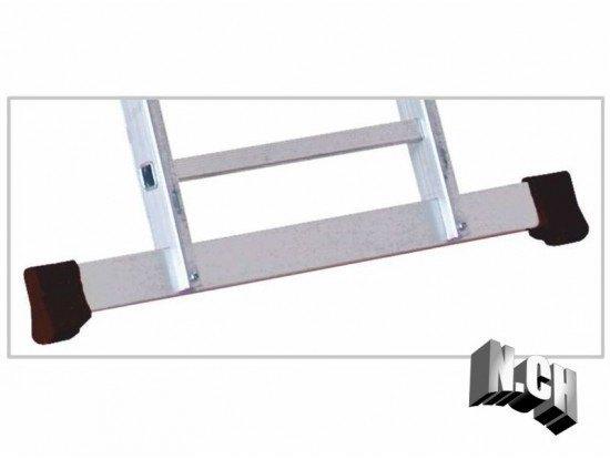 travesaño escalera base 1.02cm recambio aluminio