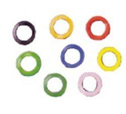 funda llave anilla verde fliorescente