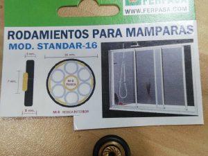 rodamiento mampara mod standar 16