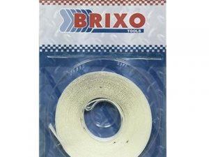 velcro adhesivo blanco 9mm rollo 5mtrs brixo