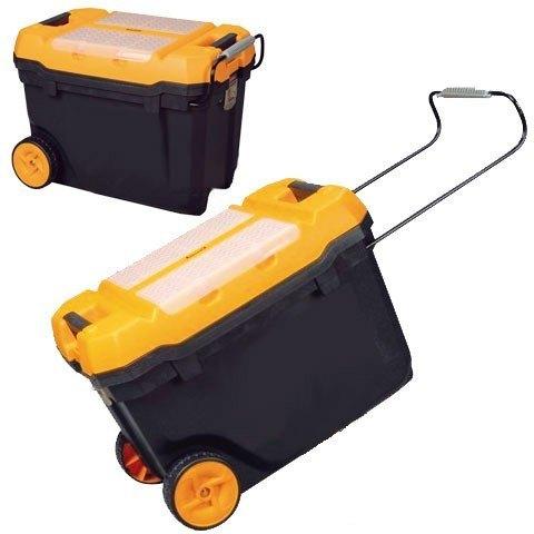 caja herramientas c/ruedas plastico brixo 595x380x420