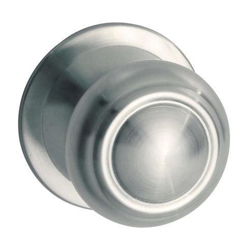 pomo puerta c/placa acero inox 85mm ref 901 ayr