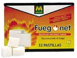 pastillas enciende fuegos (32 pastillas(masso)