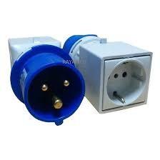 adaptador domestico industrial 2p+t famatel