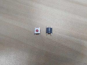 pulsador 4 patillas automatico unidad