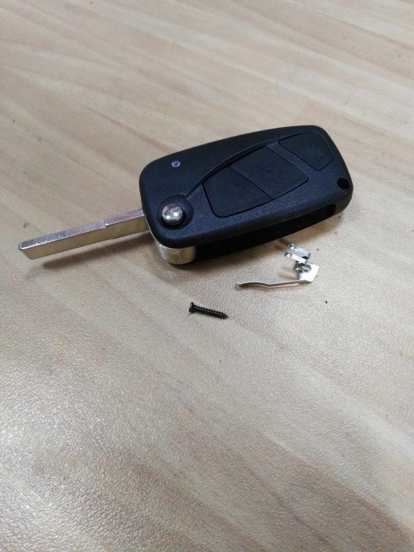 carcasa mando fiat stylo 3bot plegable pila lateral